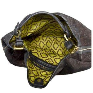 orYANY Bags - orYANY NOELLE BROWN GLITTER SHIMMER HANDBAG NWT